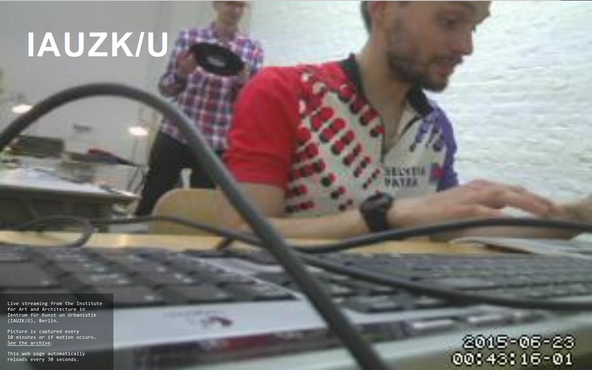 Jakub Valenta - Live broadcast from Z/KU Berlin