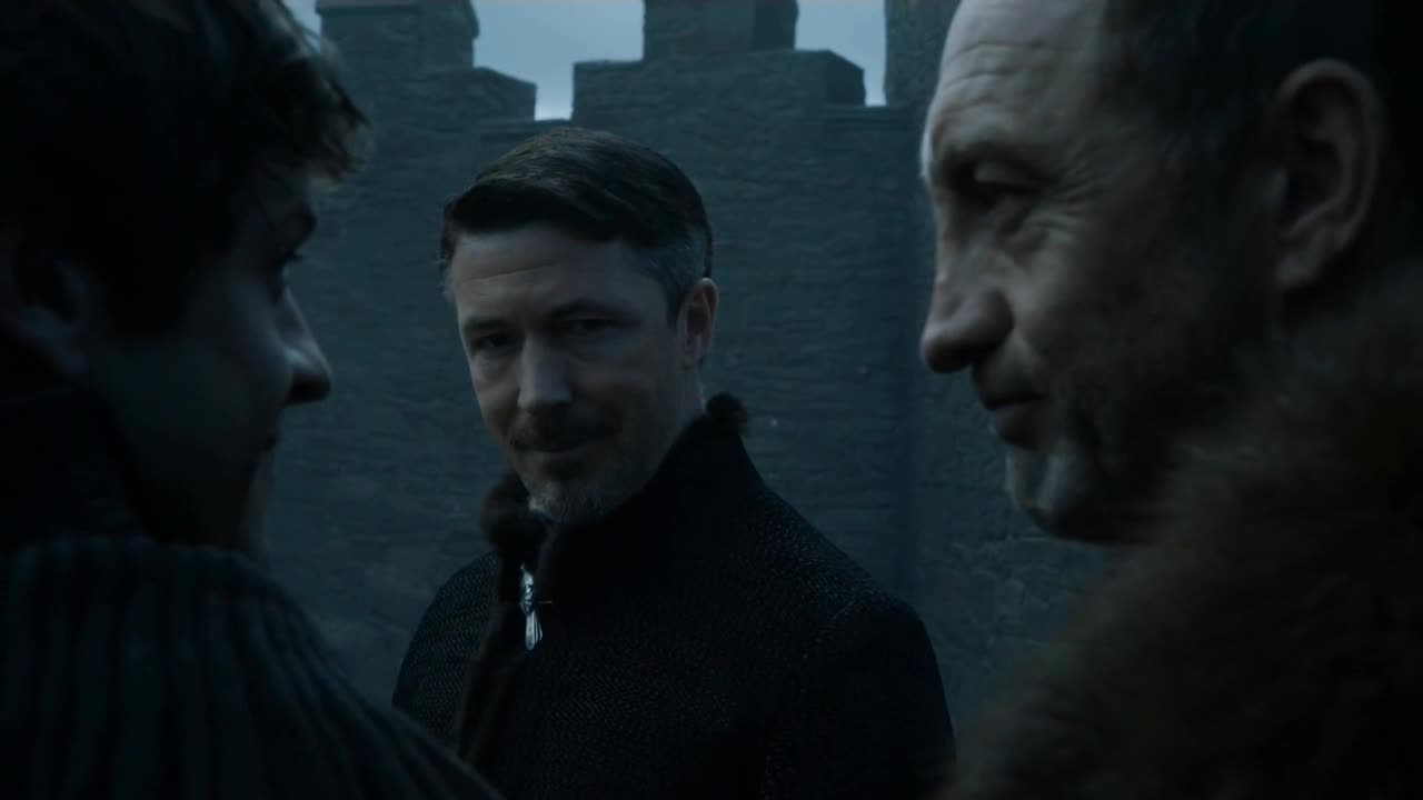 Allow me a moment alone with Lord Baelish.