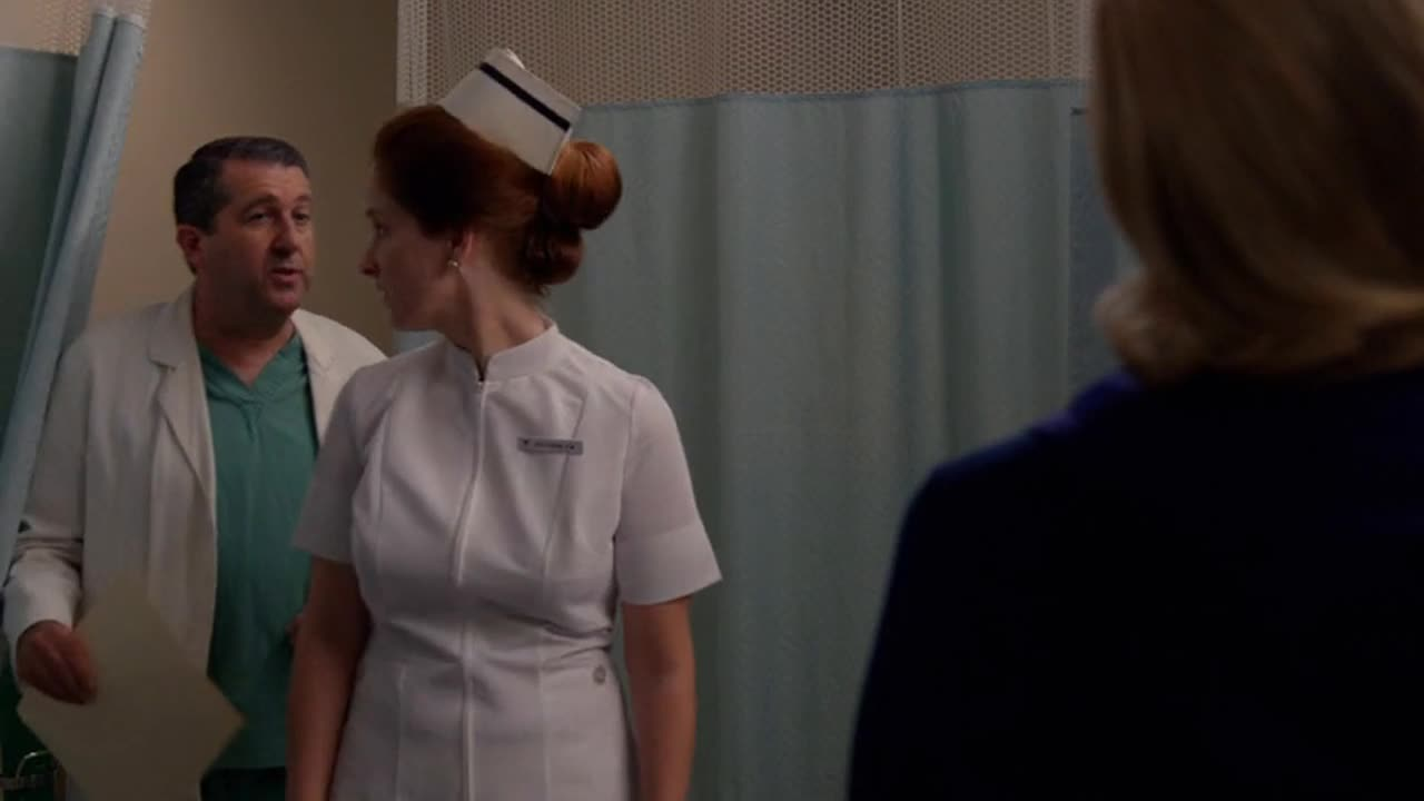 Nurse, could you excuse us?