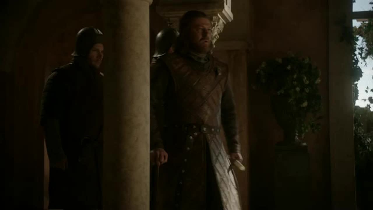 Lord Stark, a moment. Alone, if you will.